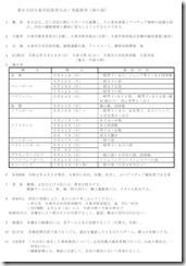 第65回大東市民体育大会・実施要項(春の部)
